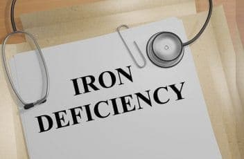 Iron Deficiency - medical concept