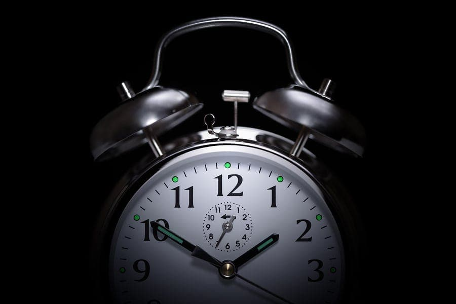Alarm-clock-in-the-middle-of-night